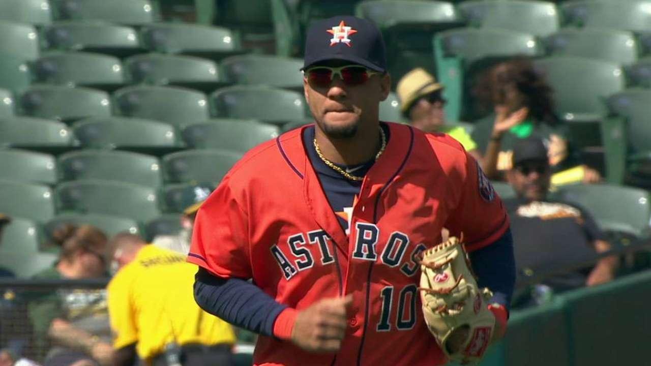 Yulieski Gurriel tiene impresionado al alto mando de los Astros