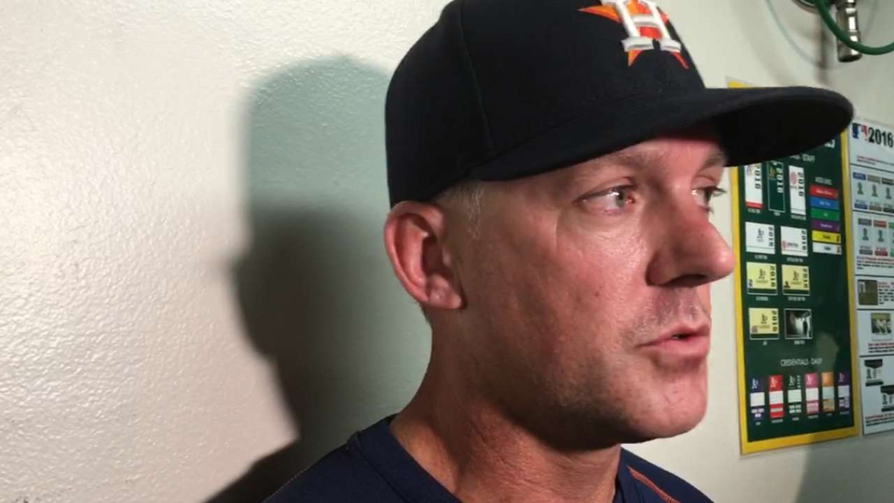 Hinch on dramatic win over A's