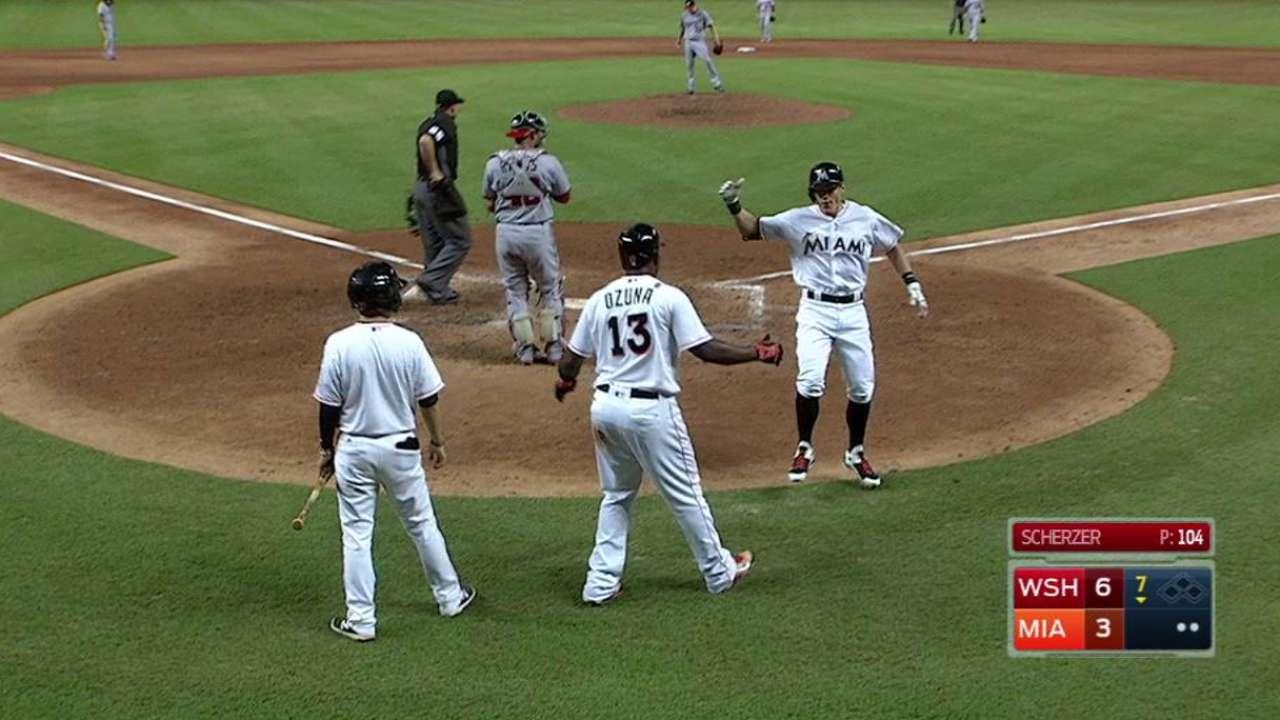 Dietrich's two-run homer