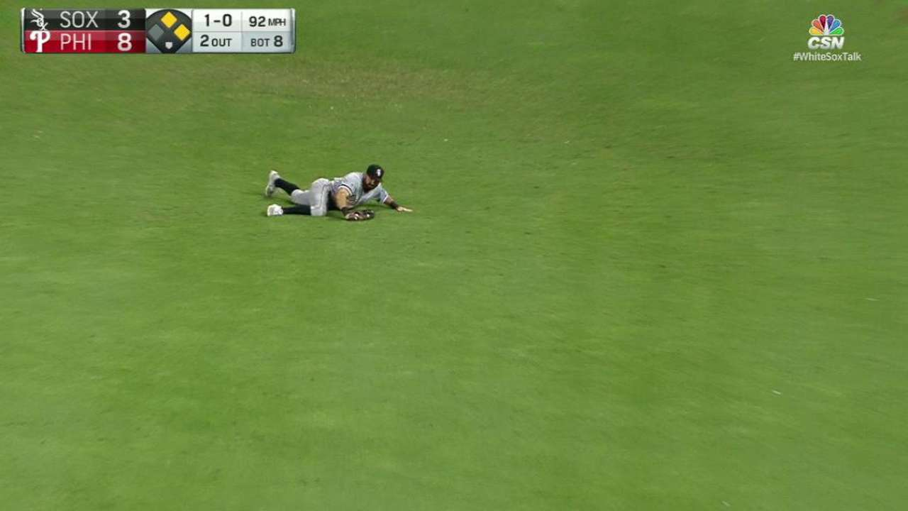 Eaton's diving catch