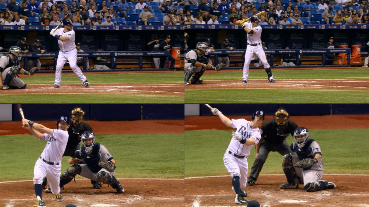 Rays go back-to-back-to-back in 4-HR inning