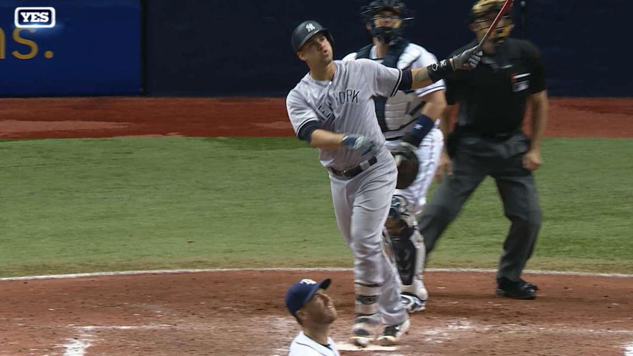 Sánchez hizo historia ante Rays y Yankees siguen en la pelea