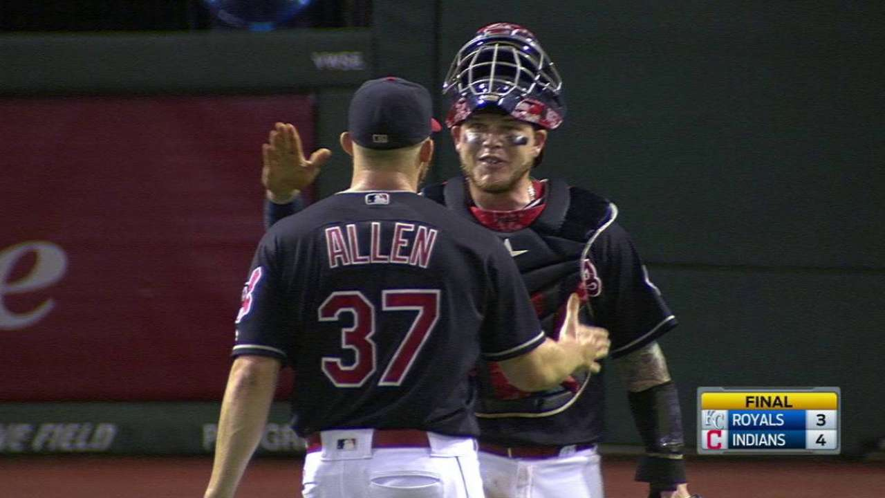 Allen gets the save