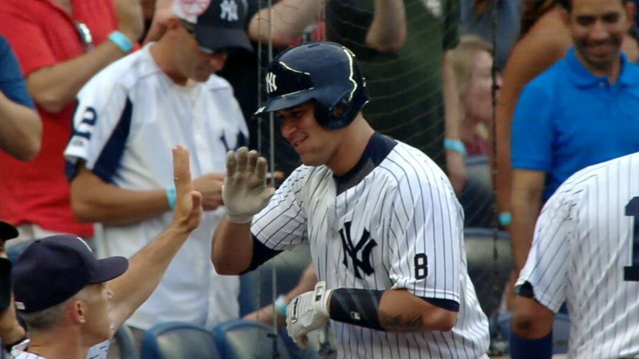 Sanchez keeping Yankees' playoff hopes alive