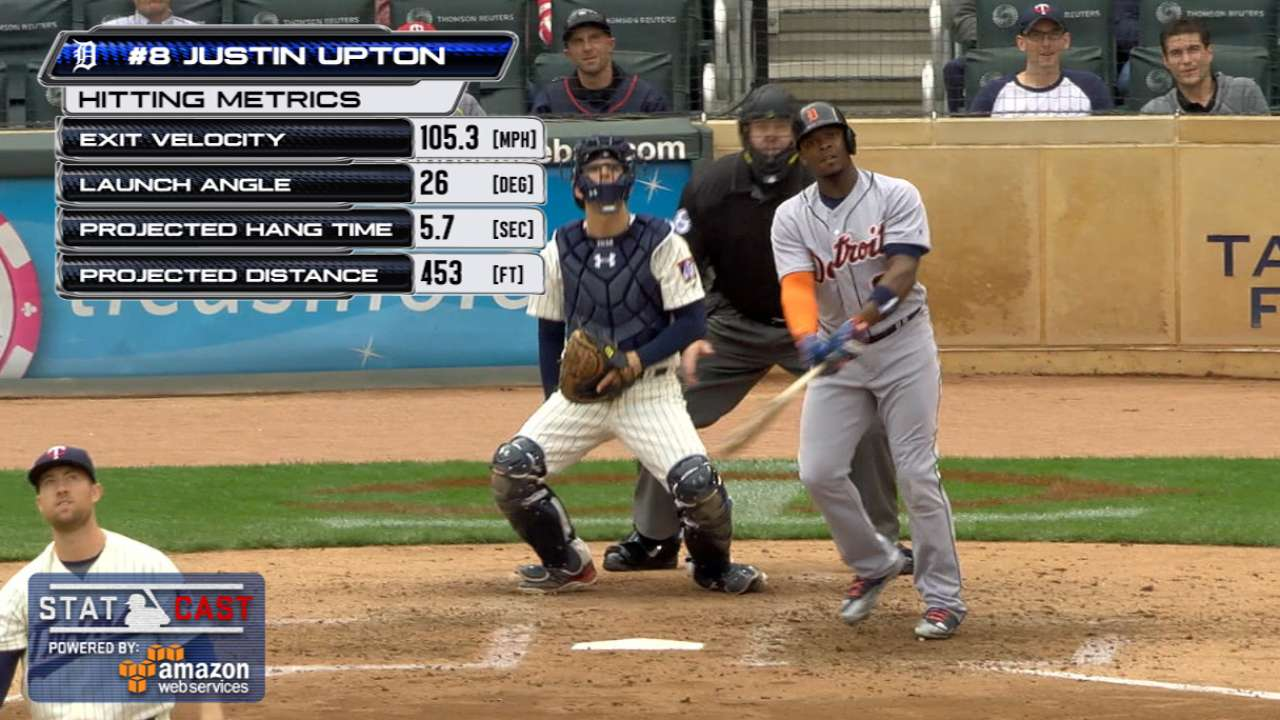 Statcast: Upton's 453-foot homer