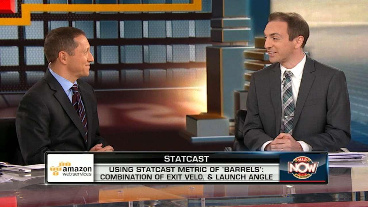 MLB Now: Petriello on new stat