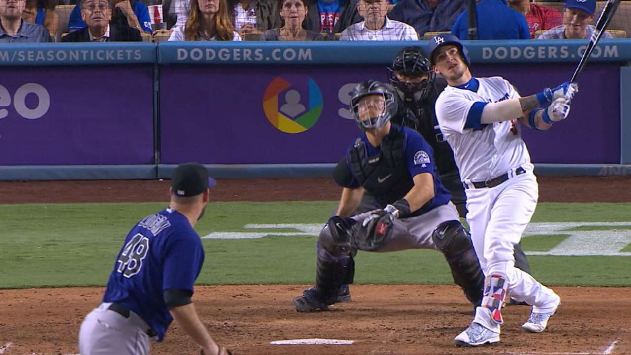 Grandal's four hits, two homers