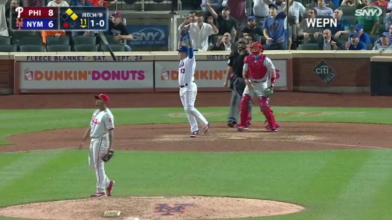El venezolano Asdrúbal Cabrera mantiene a flote a los Mets