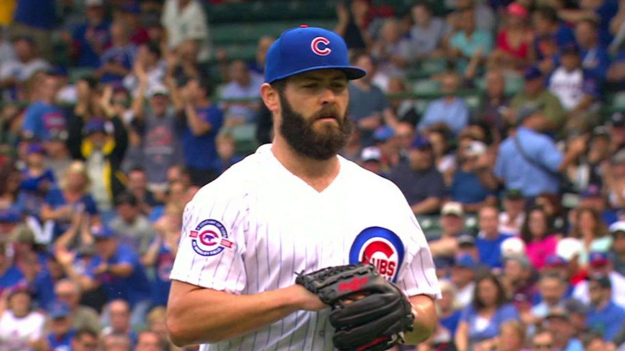 Arrieta among 4 Cubs headed to arbitration