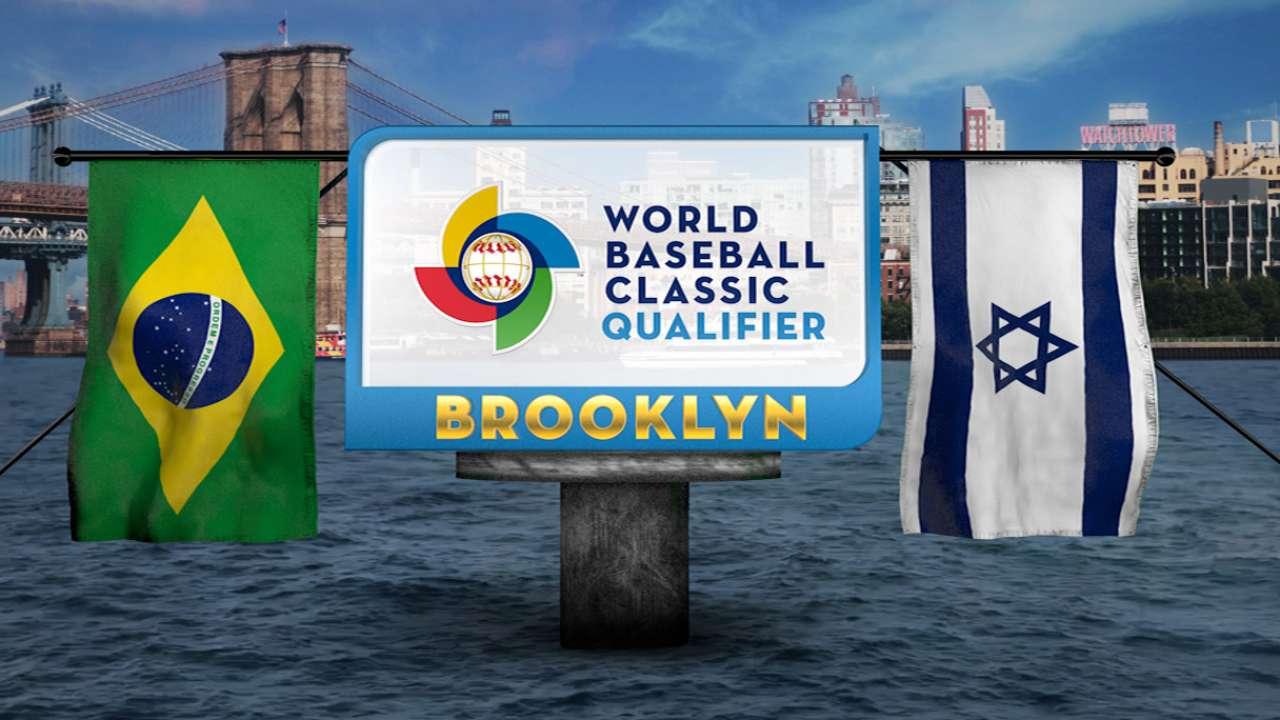 Israel outduels Brazil, advances to WBC qualifier final