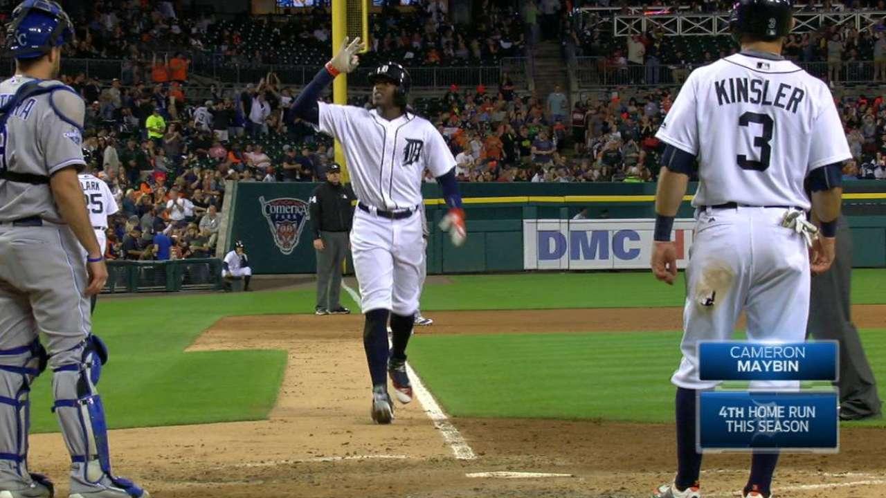 Maybin's two-run home run