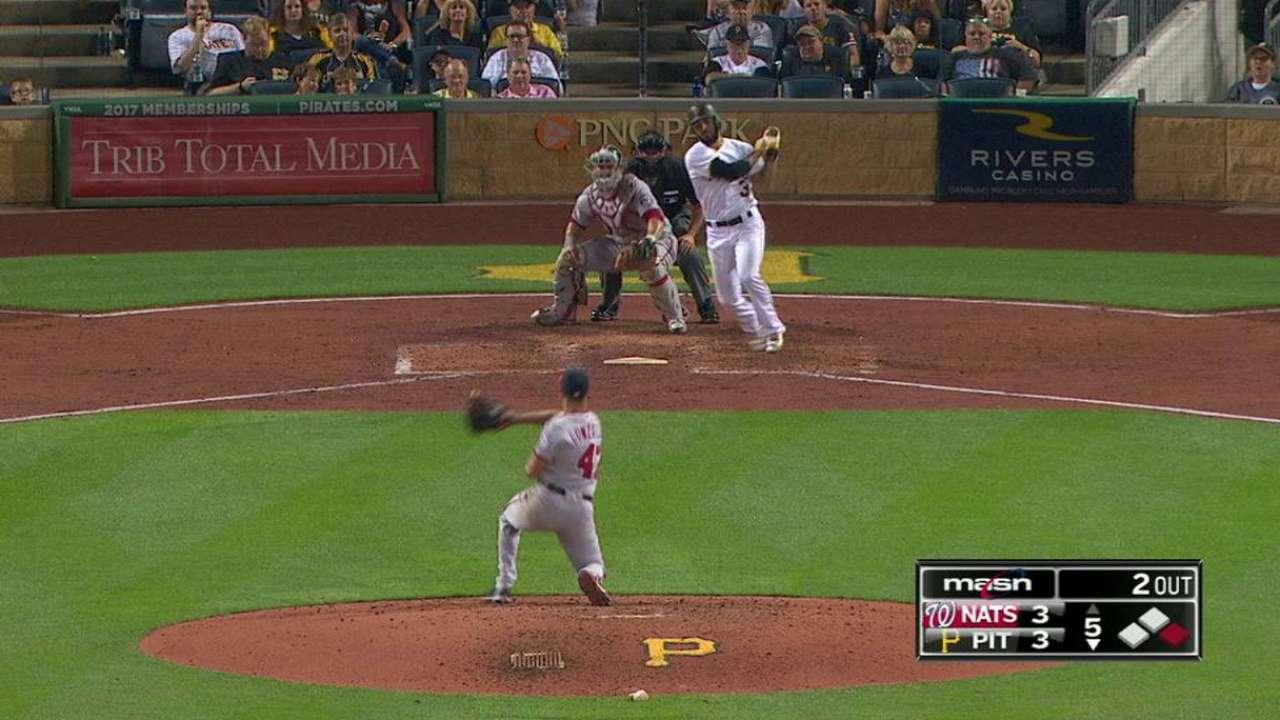 Gonzalez's quick reflexes