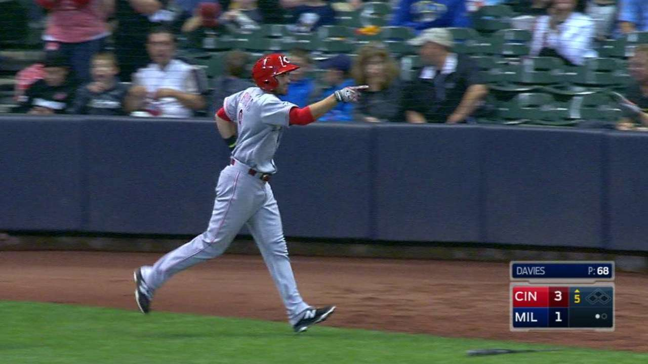 Peraza's three-run homer