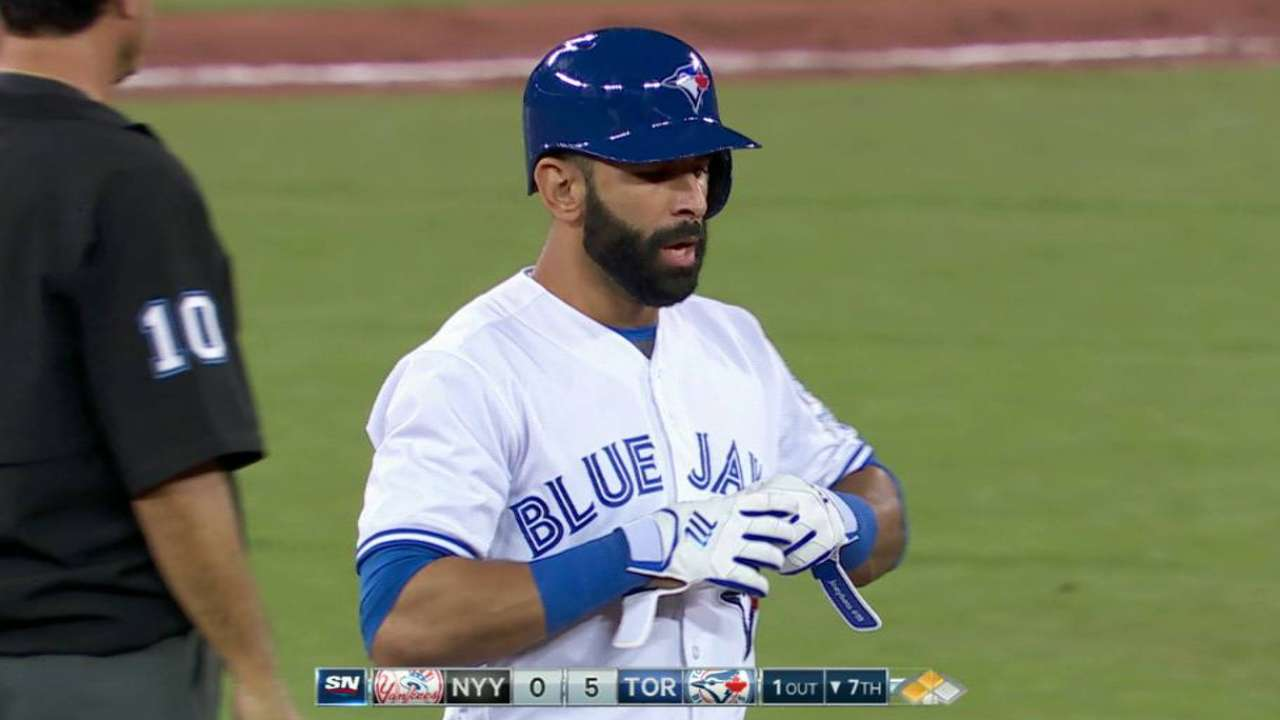 Bautista's two-run double