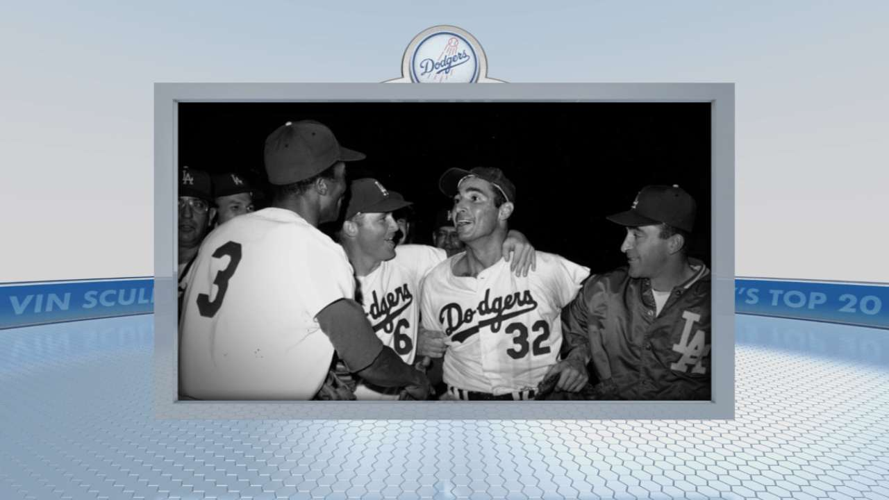 Vin Scully Top 20: #2 Koufax