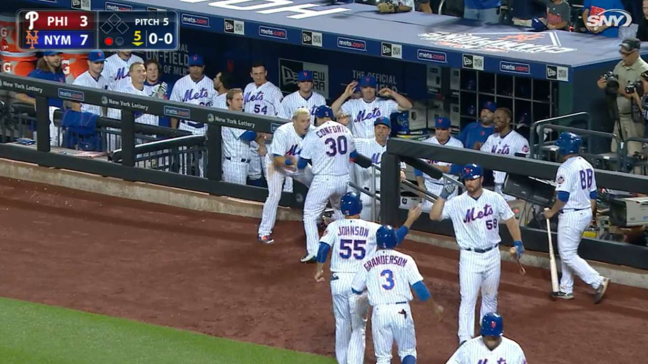 Mets top Phils with rallies, hold top WC spot