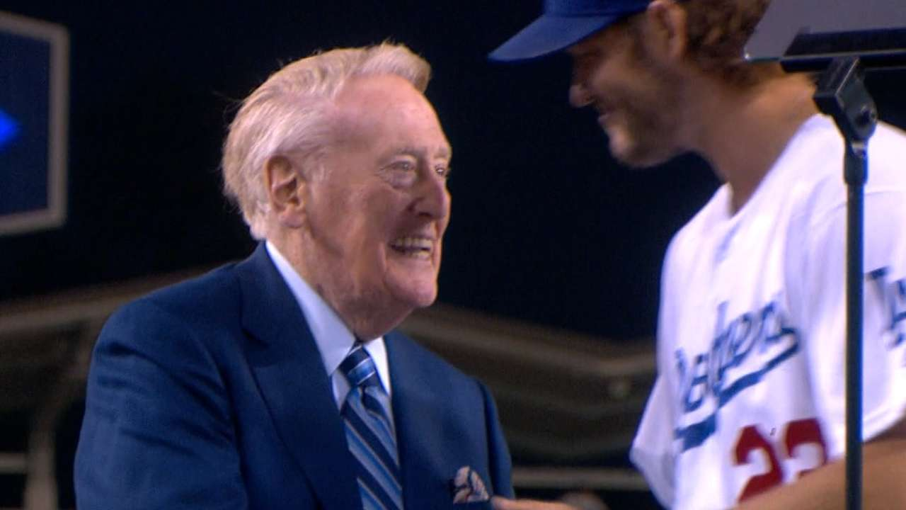 Kershaw thanks Scully