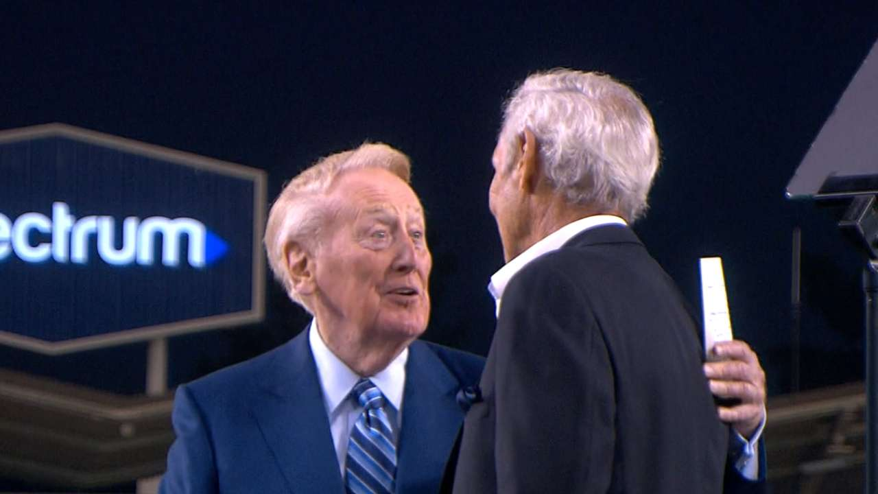 Koufax on Scully's greatness