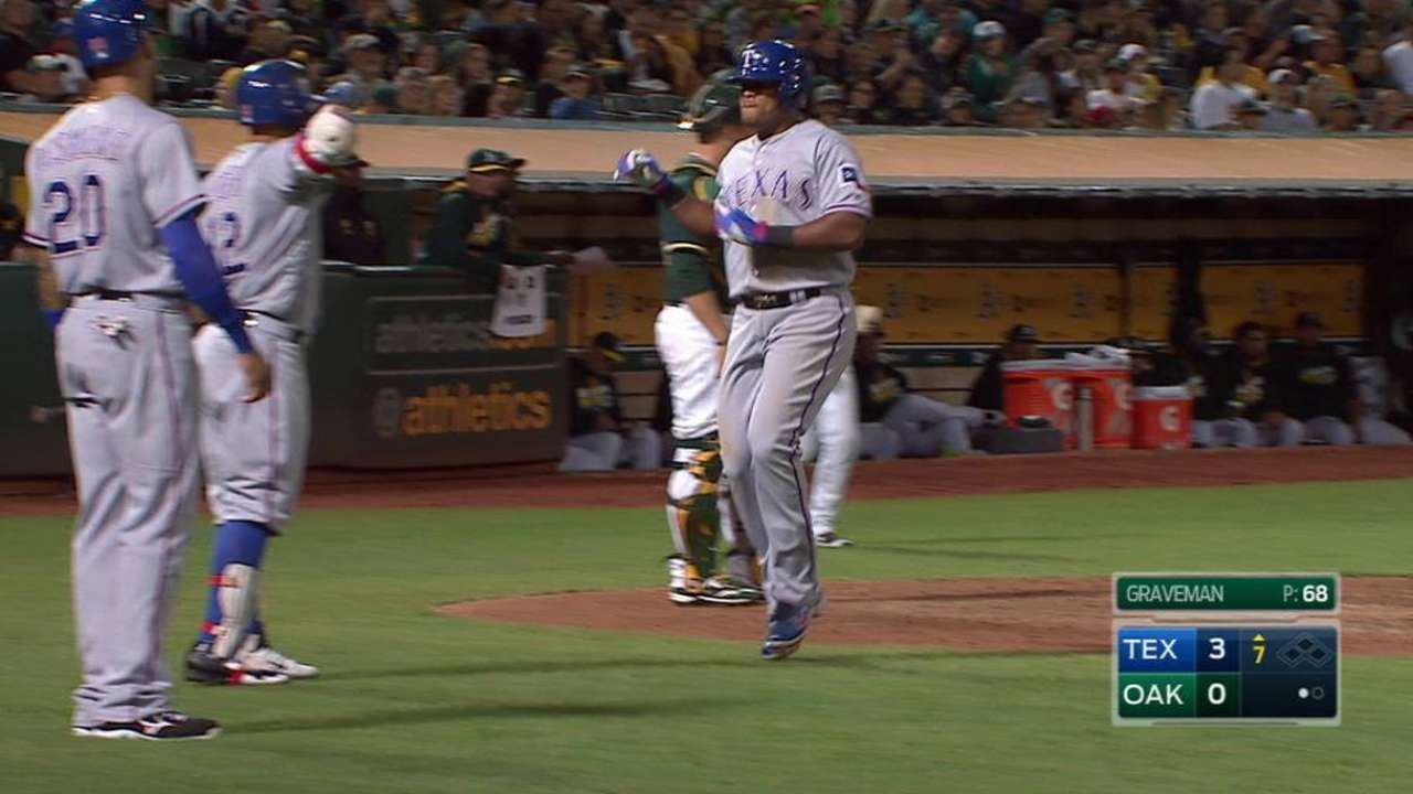 Beltre's two-run home run