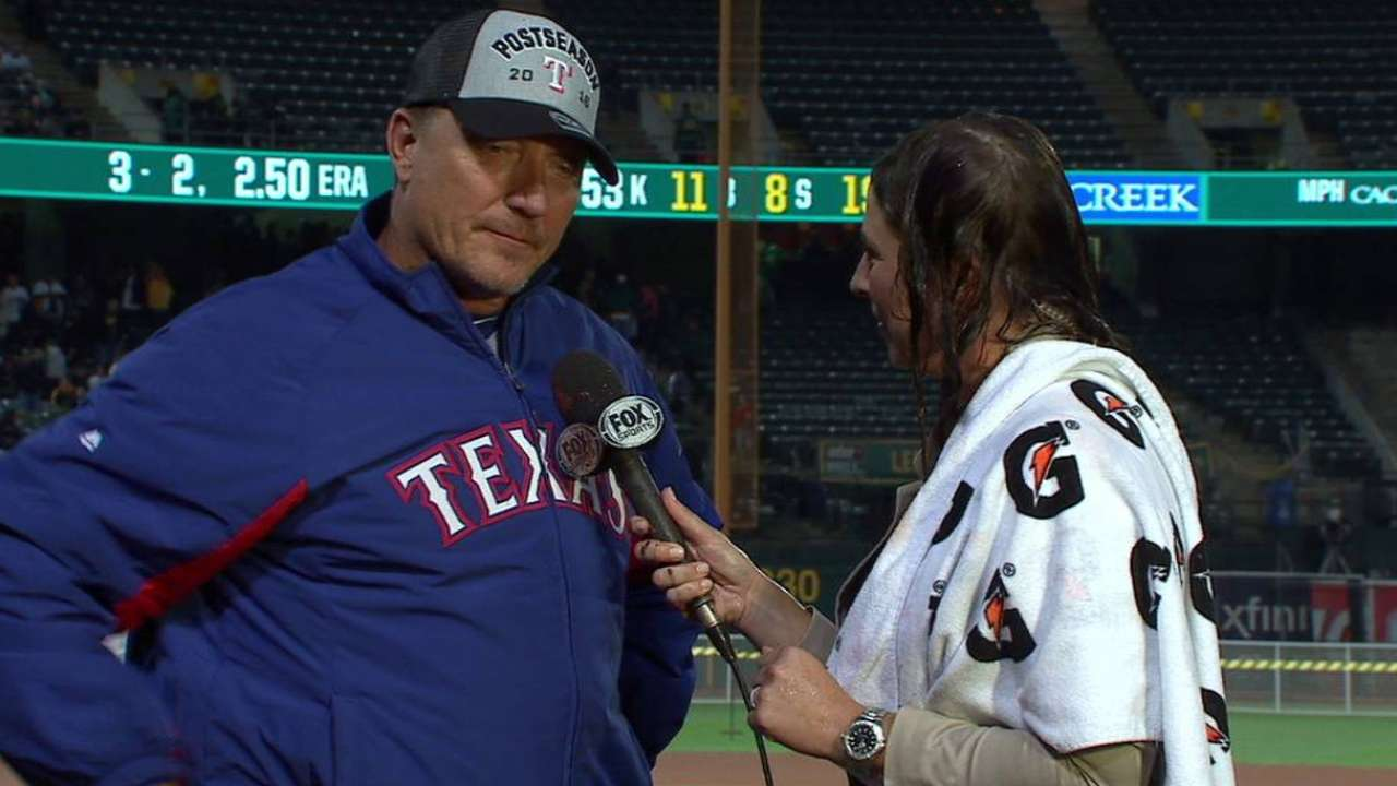 Banister on clinching the West