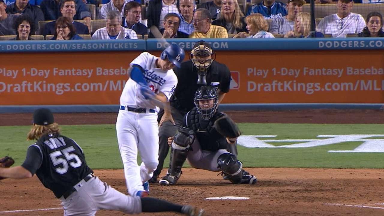 Vin's big night a winner! Dodgers near clinch