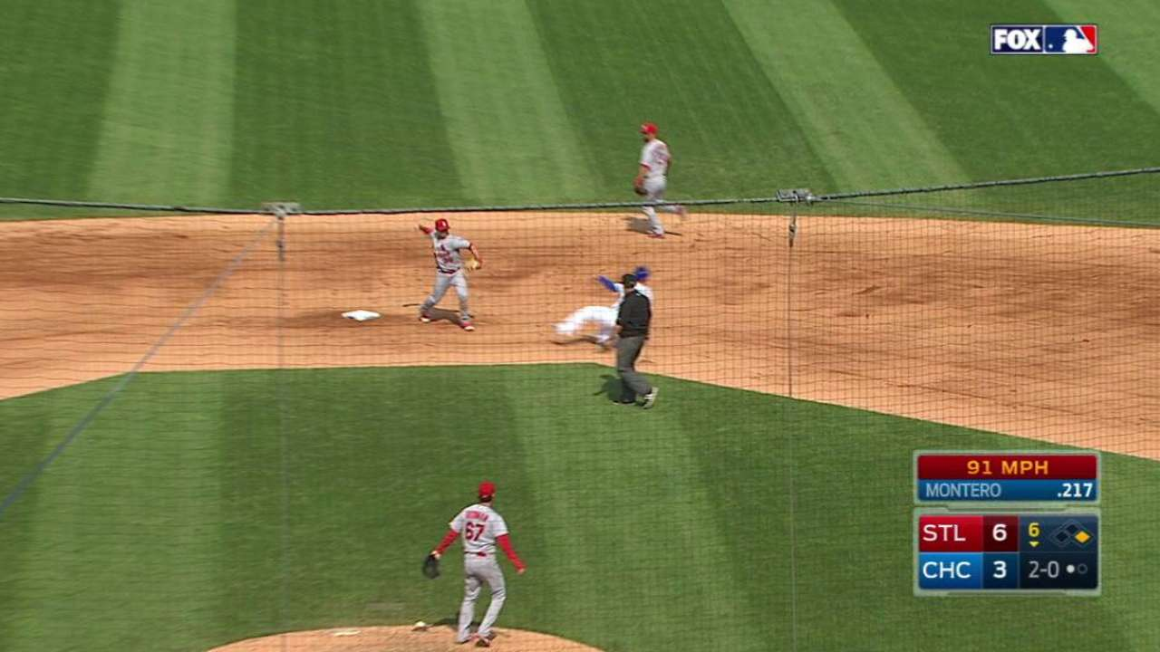 Bowman begins 1-6-3 double play