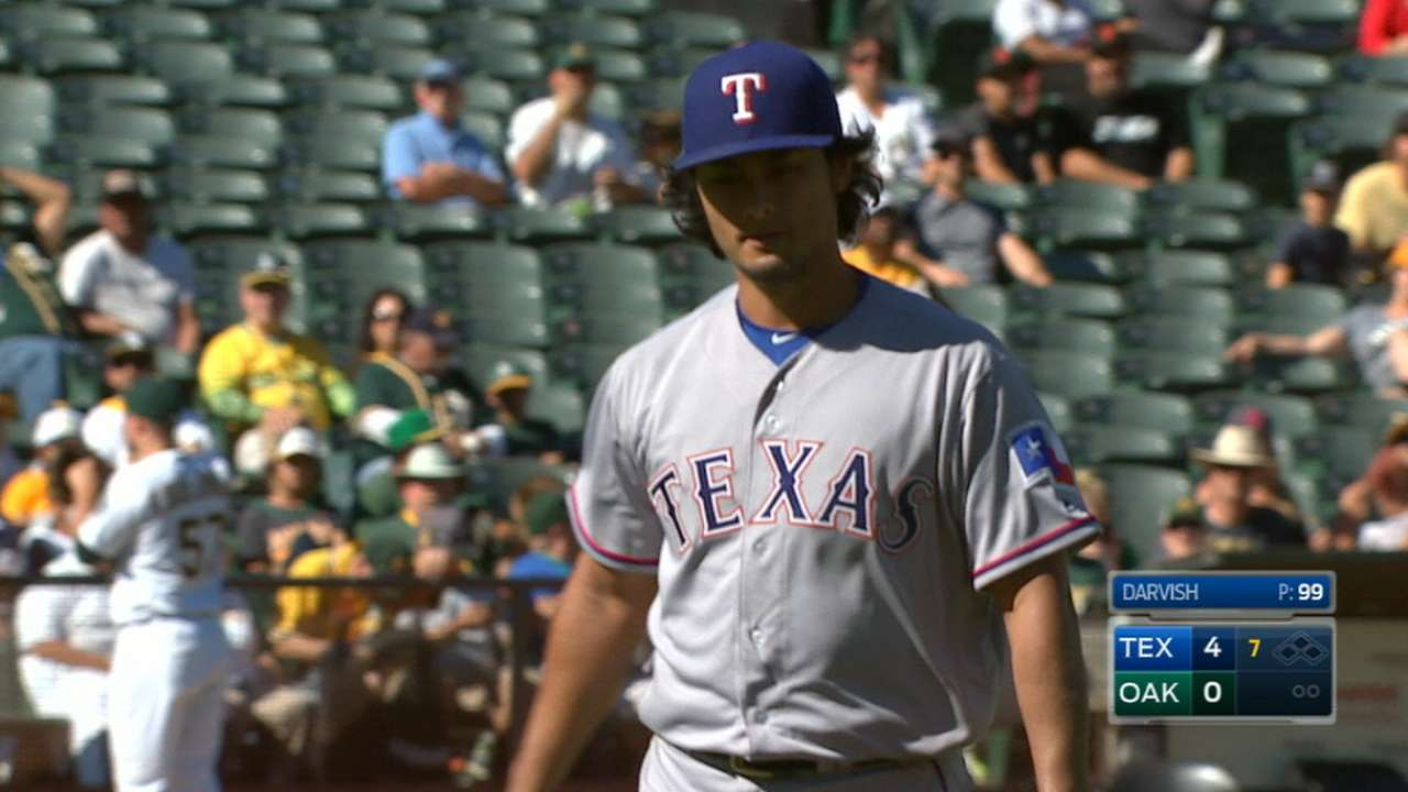 Darvish is Rangers' postseason X-factor