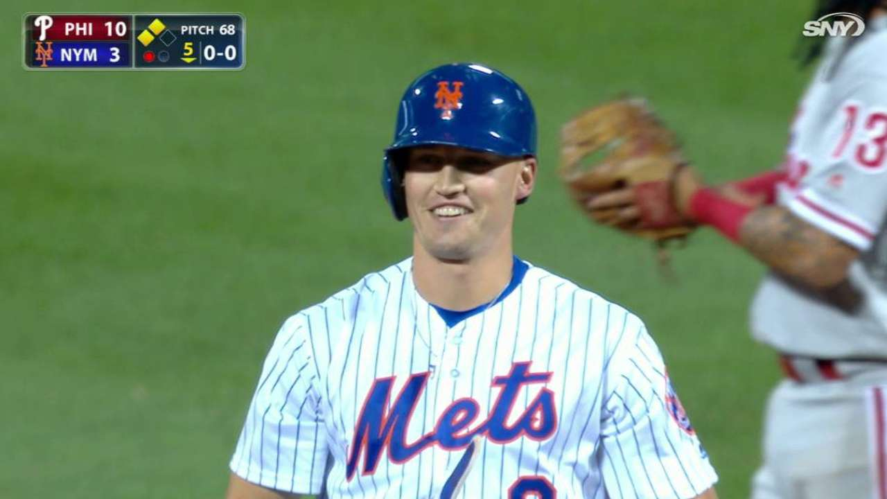 Young Mets keep battling with spirited rally