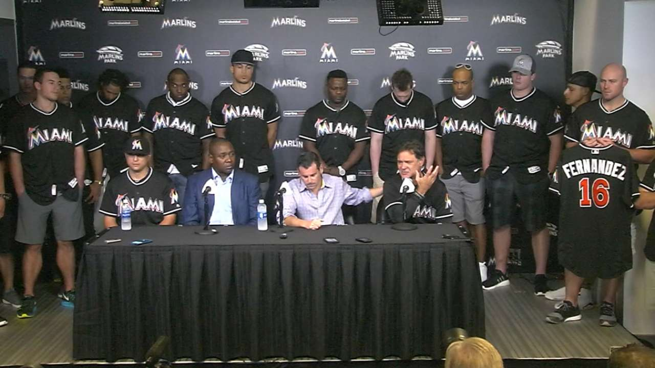 United Marlins mourn loss of Fernandez
