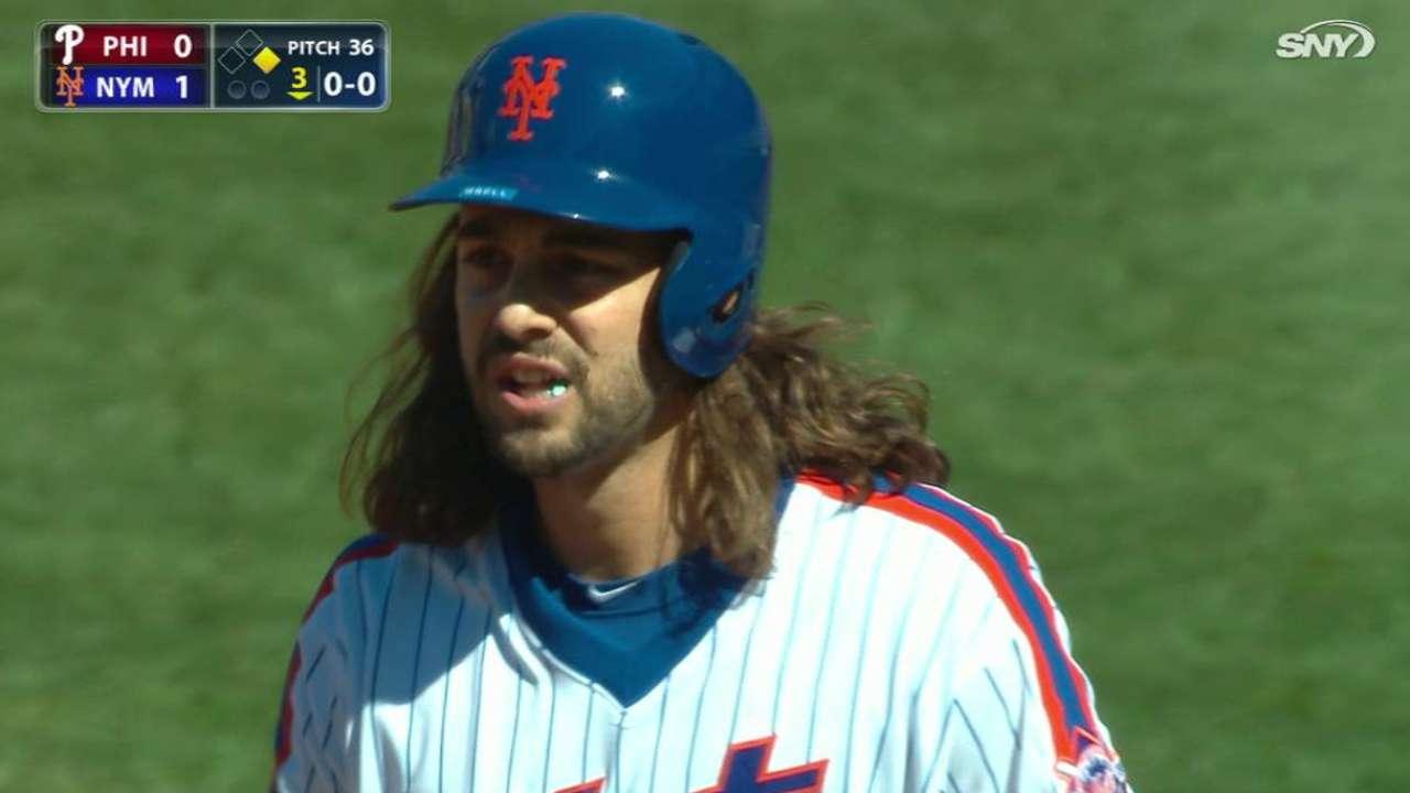 Gsellman's first MLB hit