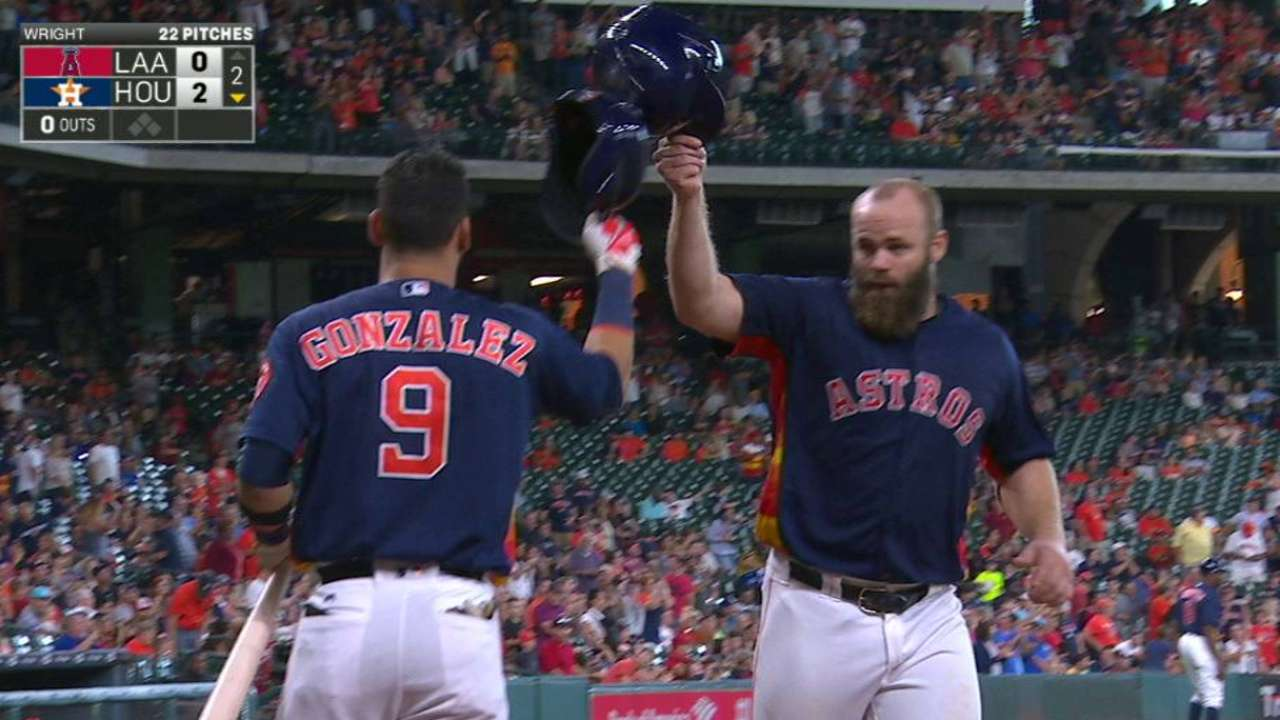 Musgrove, HRs carry Astros over Halos