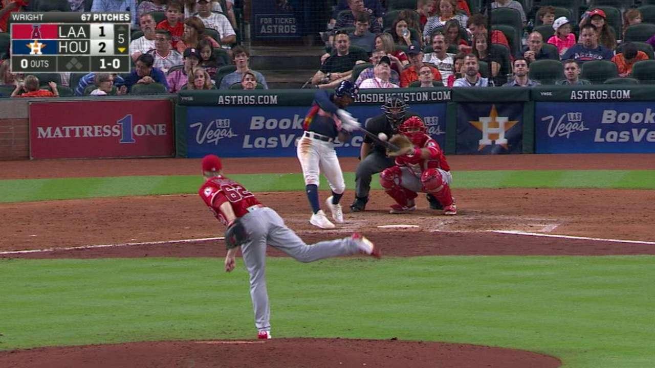 Kemp's first career home run