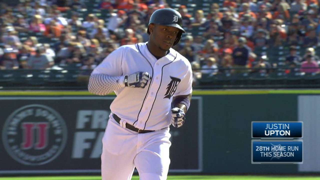 Upton's solo home run