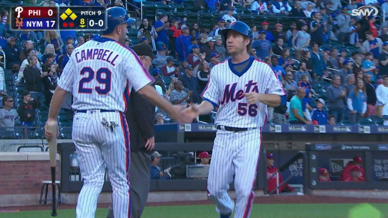 Stats of the Day: Mets rock Phils for 17