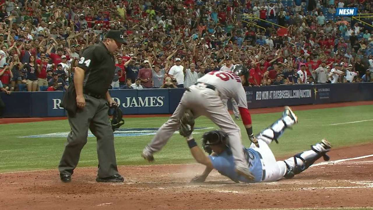 LEADING OFF: Red Sox Can Clinch as Papi Begins Bronx Goodbye