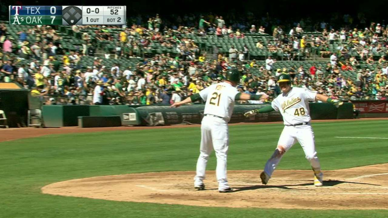 A's pivot during '16, usher in youth movement