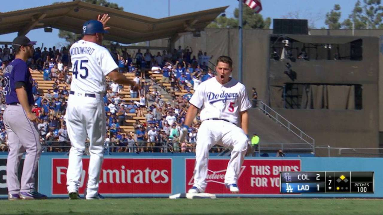 Seager's clutch triple