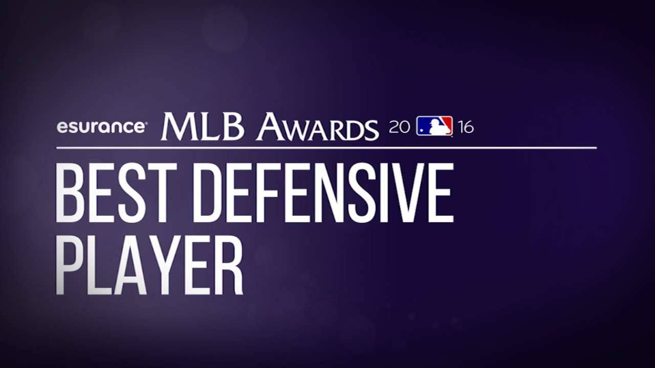 Gold Glove Award finalists revealed