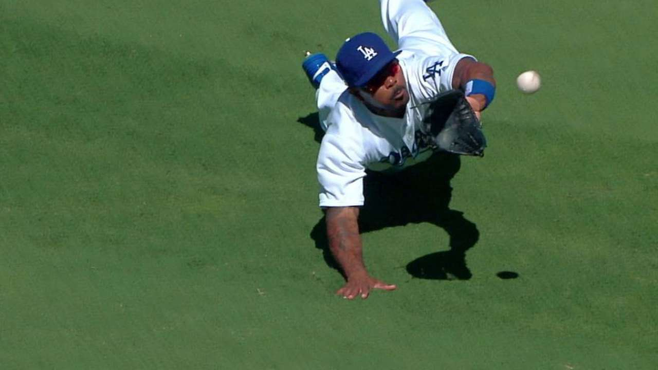 Kendrick's awesome catch