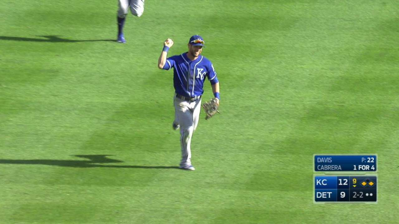 Royals' outfield likely to have familiar look