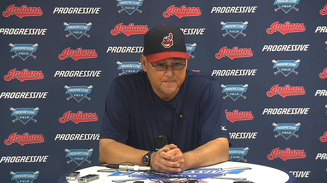 Party delayed as Tribe looks ahead to key series