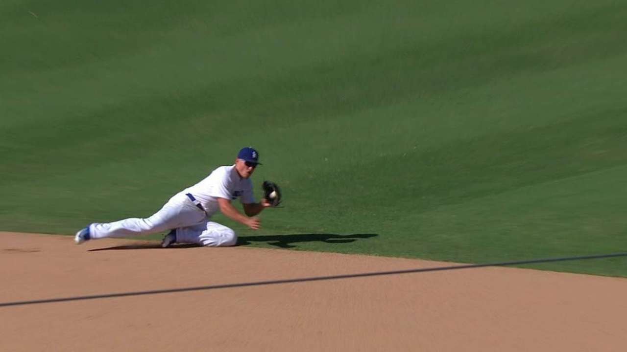 Seager's great stop