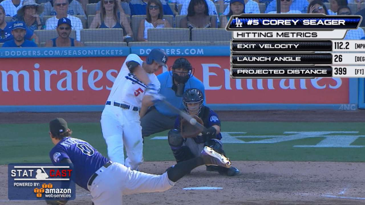 Statcast: Seager's game-tying HR
