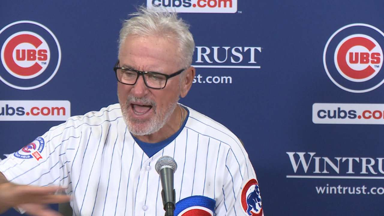 Maddon on win, Ross