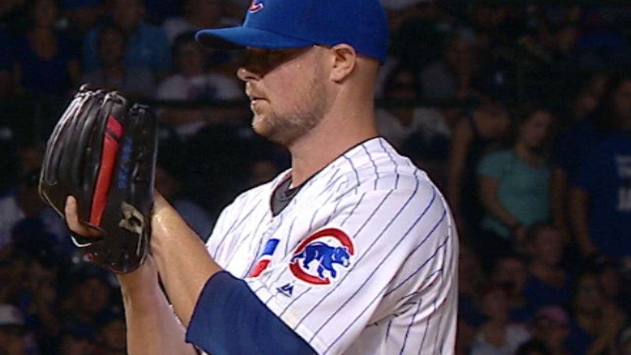 Near flawless Sept. nets Lester Pitcher of Month