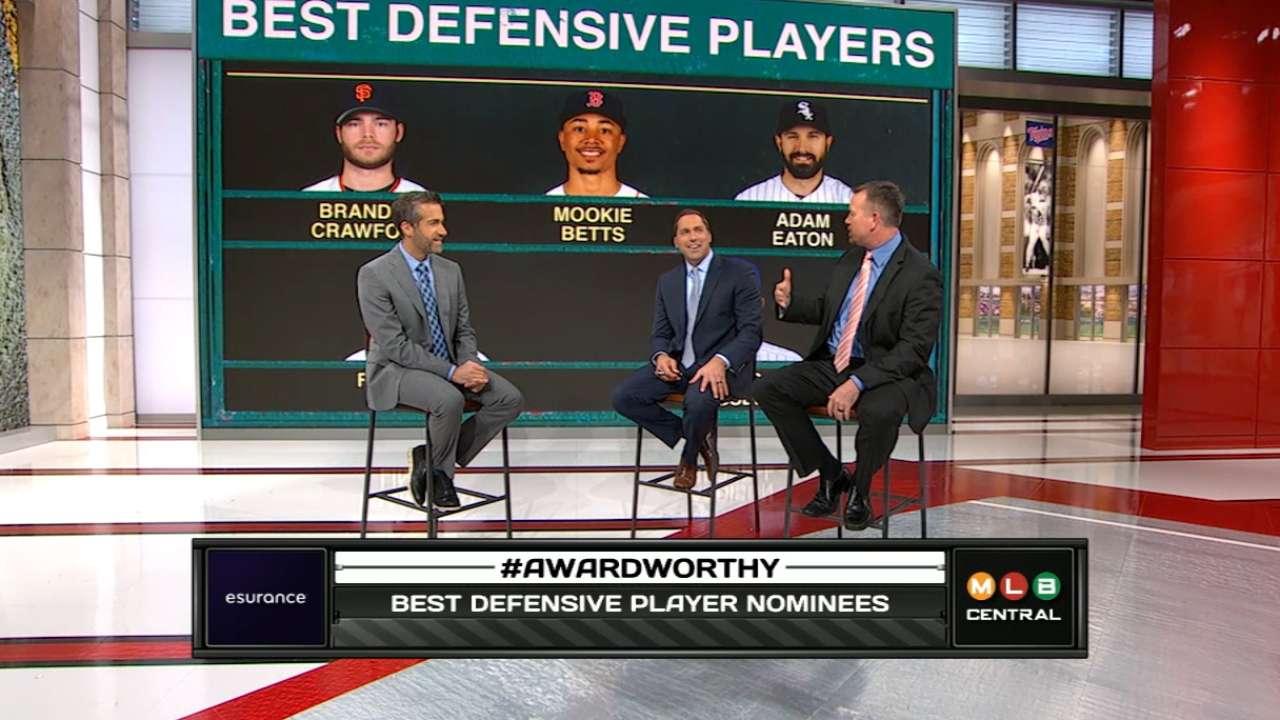 VOTE: MLB Awards Best Defensive Player