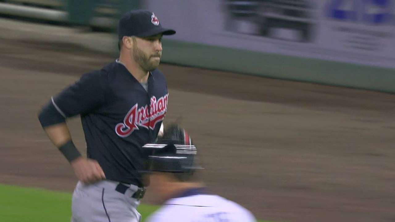 Kluber gets out of a jam