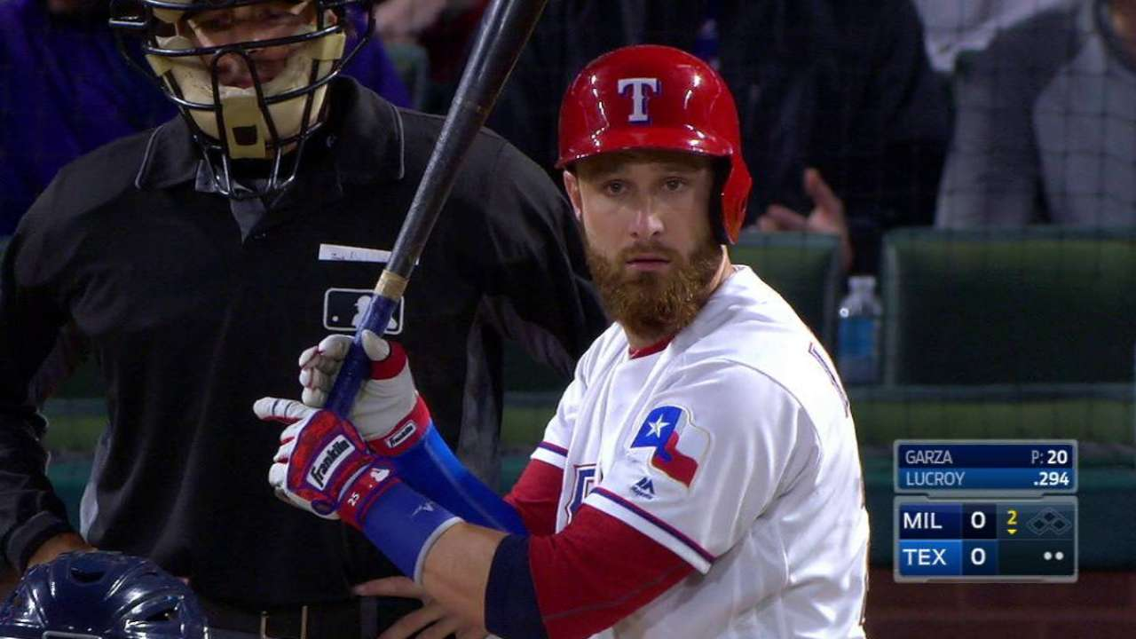 Lucroy difference-maker for AL West champs
