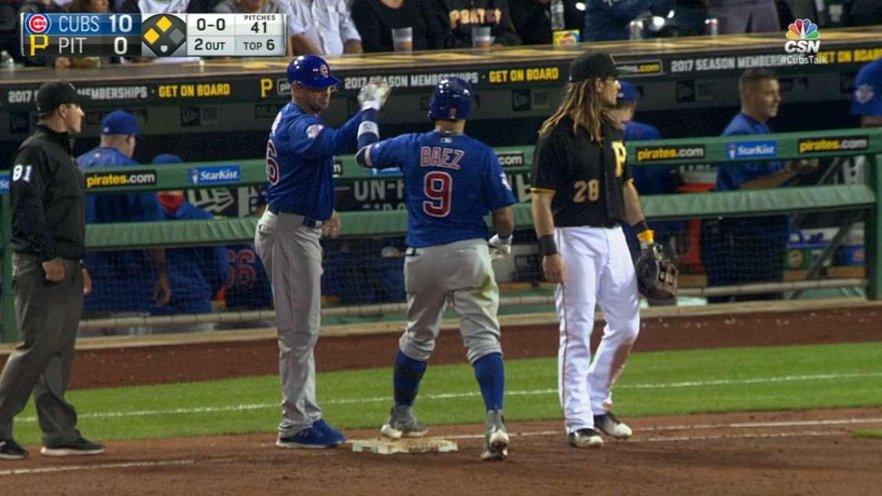 Cubs' six-run 6th