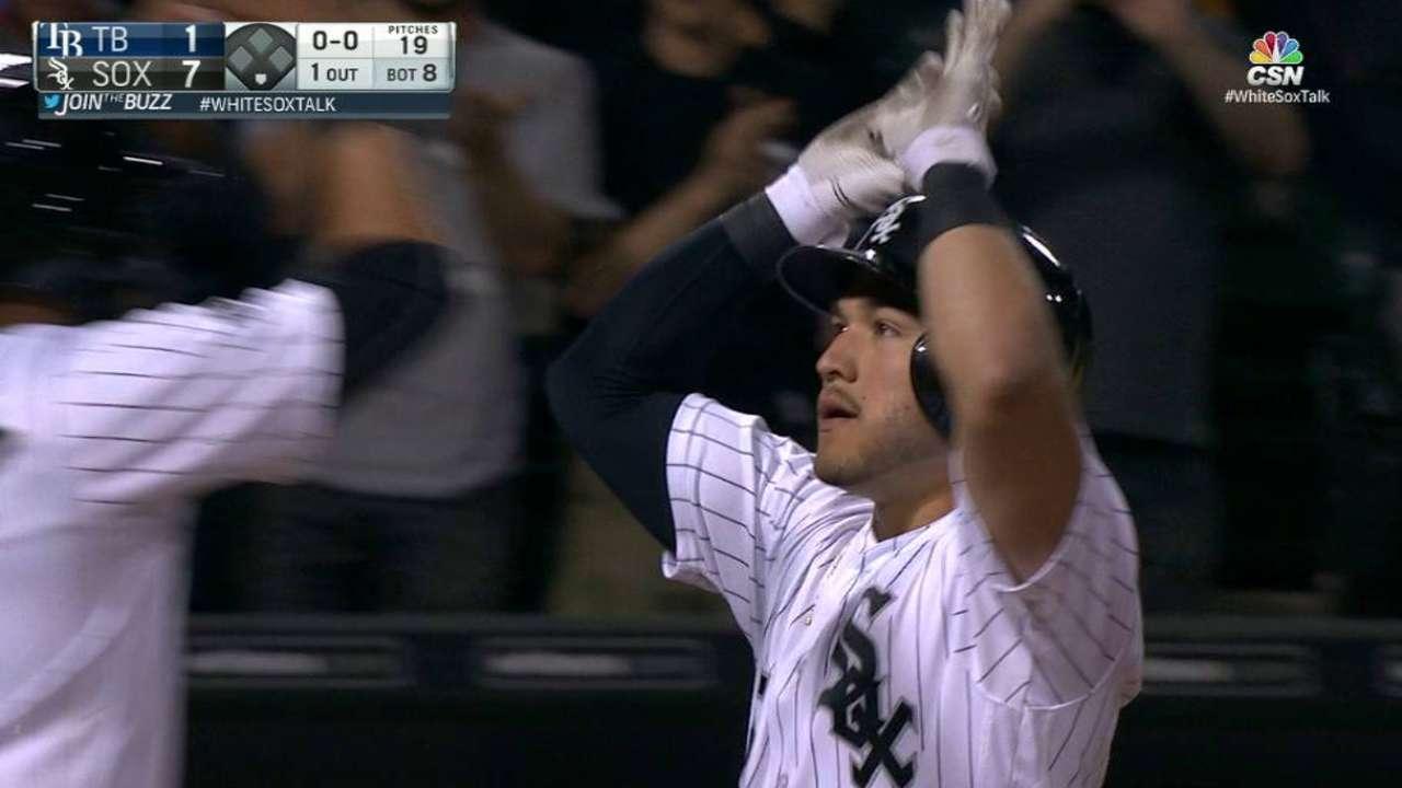 Sanchez's two-run home run